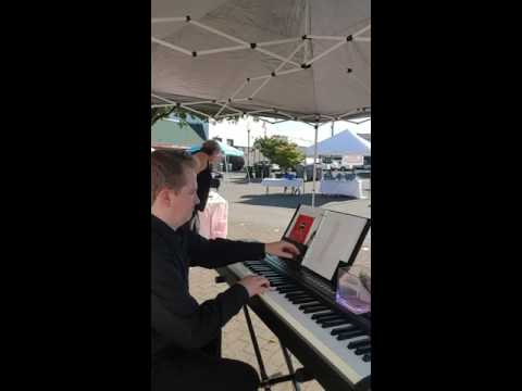 August 5th Piano Music Jam at Heavenly Bridal Boutique in Canby Oregon by Ryan David Dwyer