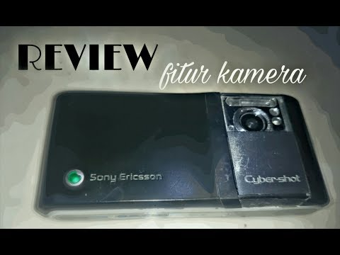 Review fitur kamera Sony Ericsson C905 Cyber-Shot