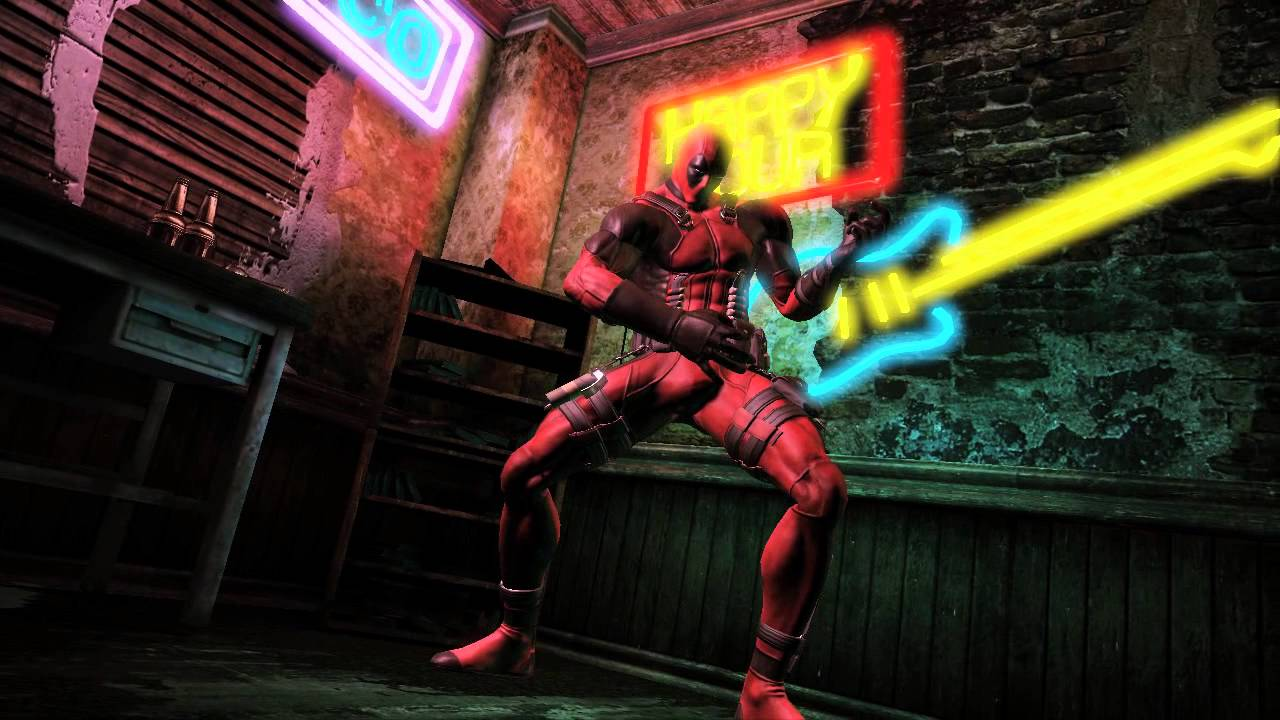 Deadpool gameplay (PS3, Xbox 360) - YouTube