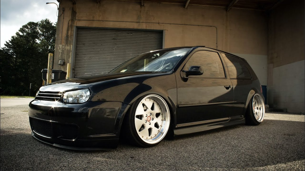 Slammed Car Wallpaper Oh Its Bagged 2004 Volkswagen R32 Review Youtube