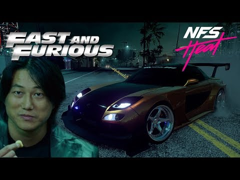 Need For Speed Heat | Mazda RX7 [Fast&Furious Tokyo Drift - Han]