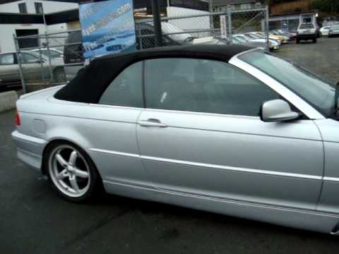 2001 Bmw 325ci Convertible Ground Effects 18 Quot Wheels Lowered Walk Around Video Youtube