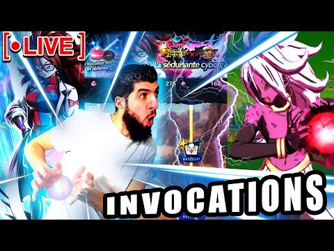 🔴INVOCATIONS C21 DRAGON BALL LEGENDS !
