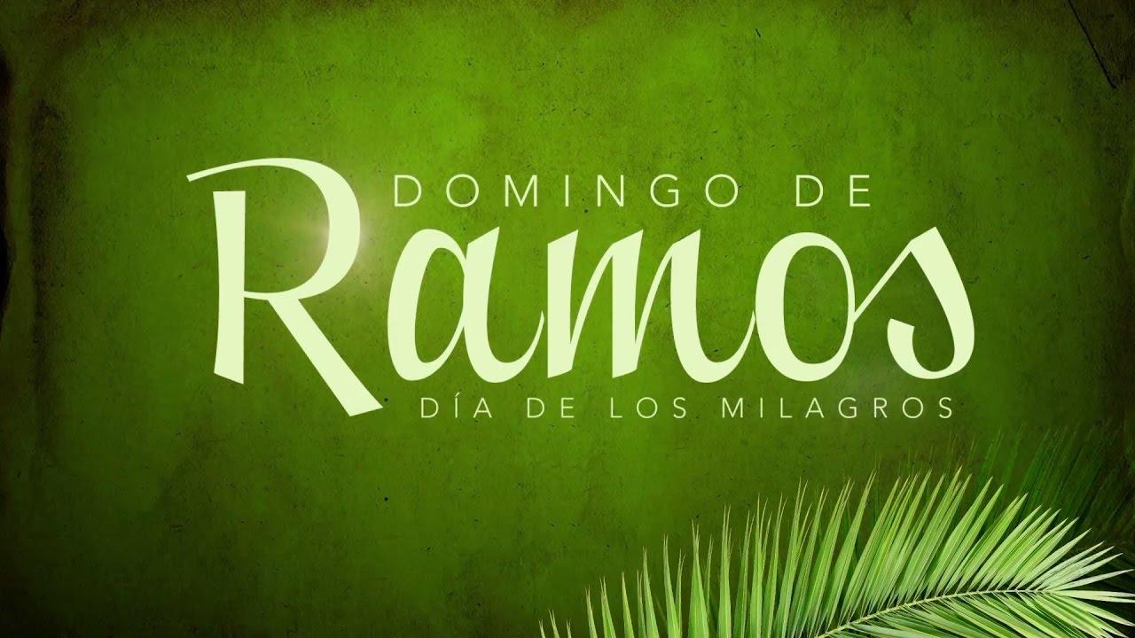 Domingo De Ramos Youtube