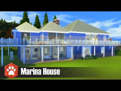 Marina House l Sims 4 House Build