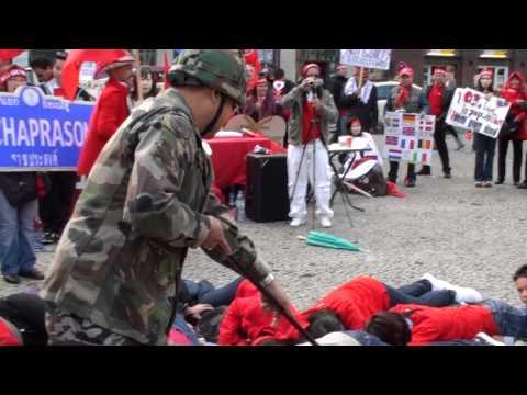 เสื้อแดงยุโรปที่เมืองฮัมบวร์กเยอร์มัน 19 กย 53