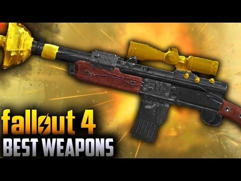 "Fallout 4 Far Harbor DLC - EXPLOSIVE ""KILOTON RADIUM RIFLE"" Location ! (Fallout 4 Unique Weapons)"