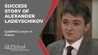 Success Story of Alexander Ladeyschikov - QLTS School's Former Candidate