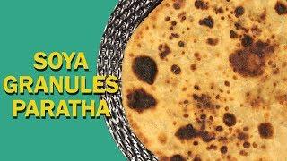 Soya Paratha | Indian Breakfast | सोया परांठा | Healthy Soya Keema Paratha | Food Tak