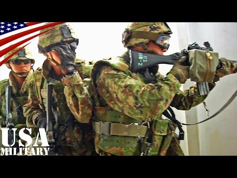 陸上自衛隊・近接戦闘(室内戦闘)訓練 - JGSDF Close Quarters Combat Training