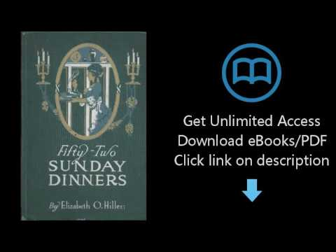 Fifty-two Sunday Dinners - Book Of Recipes