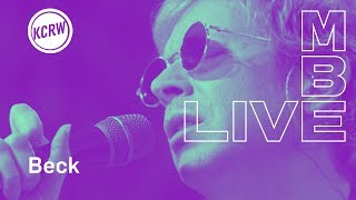 "Beck performing ""Dark Places"" live on KCRW"