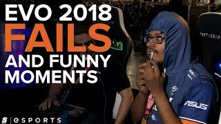 Evo 2018 Fails and Funny Moments