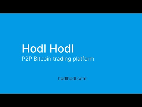 HodlHodl Bitcoin Exchange - How to Cancel Contracts and Get a Refund