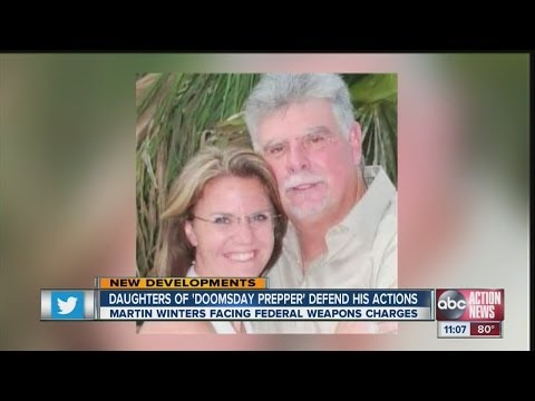 Daughters of 'doomsday prepper' defend his actions