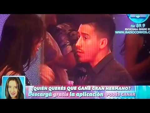 #GH2015: La feroz discusión entre Maypi y Nico durante la fiesta