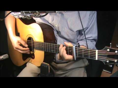 If I Had a Boat - Lyle Lovett - chords -fingerstyle