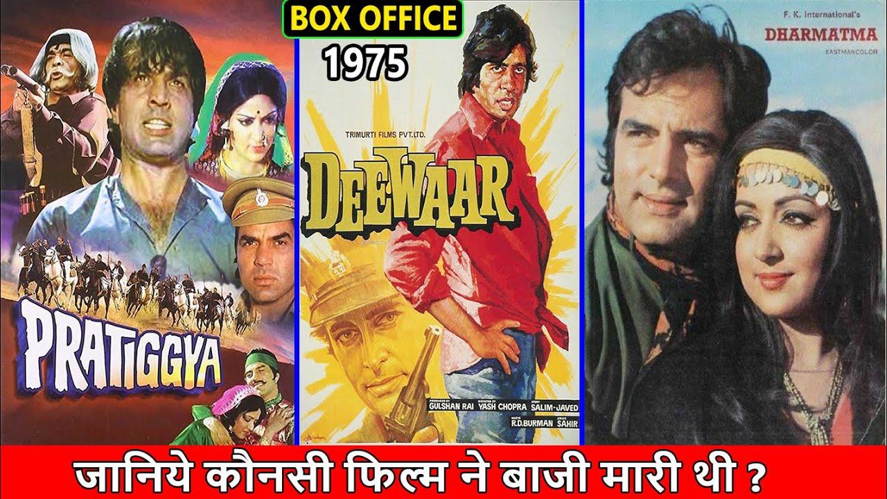 Download Pratiggya, Deewaar vs Dharmatma 1975 Movie Budget, Box Office Collection, Verdict and Facts