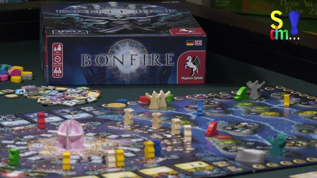 Spiel doch mal BONFIRE! - Brettspiel Rezension Meinung Test #350