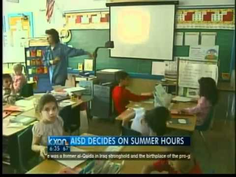AISD decides on summer hours