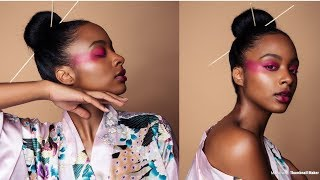 VLOG | PhotoShoot | Watch how Sed Edits My Modeling Pictures