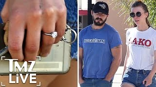 Shia LaBeouf Engaged to Mia Goth | TMZ Live