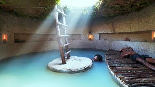 Build Most Secret Underground House And Swimming Pool