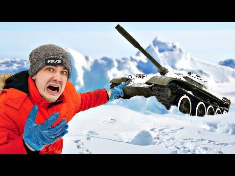 Нашли потерянный ТАНК во льдах и раскопали его! Откуда он там?