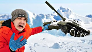 Нашли потерянный ТАНК во льдах и раскопали его Откуда он там