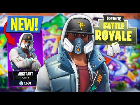 NEW FORTNITE UPDATE!! *EPIC ABSTRAKT SKIN* (Fortnite Battle Royale)