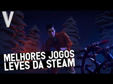 TOP 10 MELHORES JOGOS GRATIS PRA PC FRACO DA STEAM 2018!