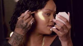 Rihanna putting on Kilawatt highlighter