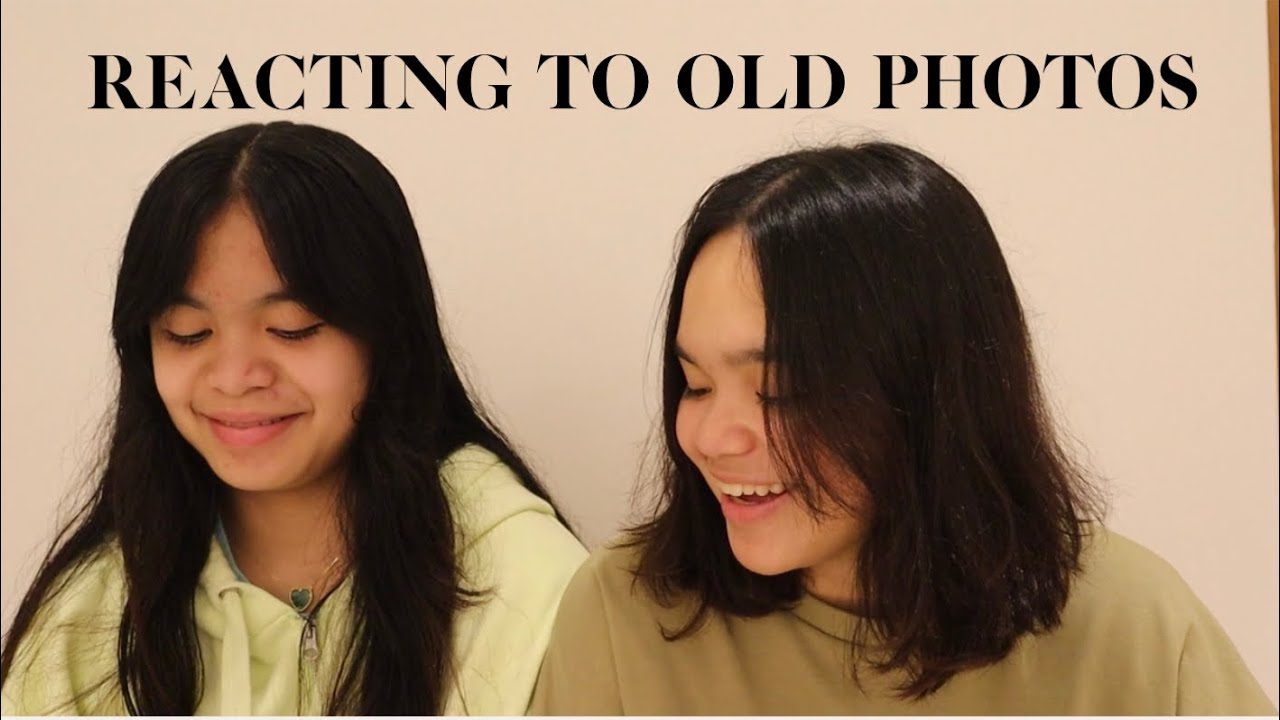 REACTING TO OLD PHOTOS WITH MY SISTER! *FUNNY*   Mary Pacquiao and Family  