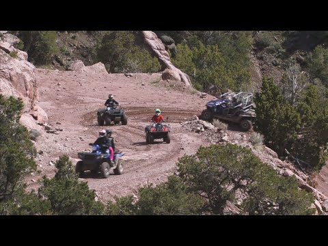 ATVing the Paiute Trail - Hole in the Rock - Polaris 900 RZR Trail Review - Ride On Initiative