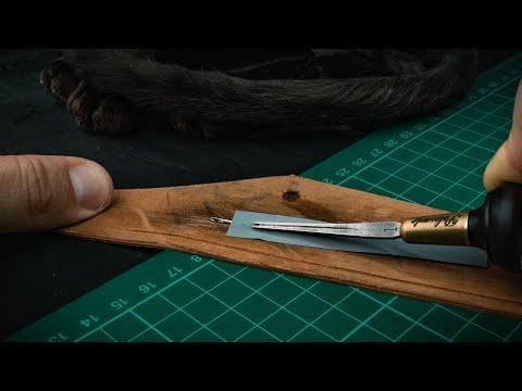 My 5 Unique Simple Leather Craft Tips [RU Sub] #004