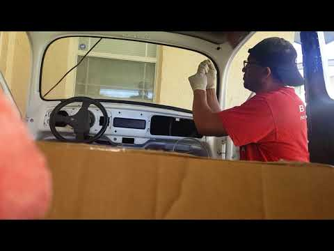 easy vw bug windshield removal