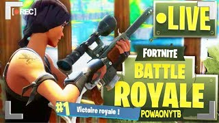 🔴 FORTNITE BATTLE ROYAL / GROS SKILL💪NEW SKINS😱 720p60fps AND Happy New Year 🎉🎉🎉