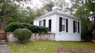 Little White House in Warm Spings GA - The Lighthouse Lady