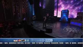 "Dovid Moskovits ""Adon Olam"" on the Chabad Telethon"