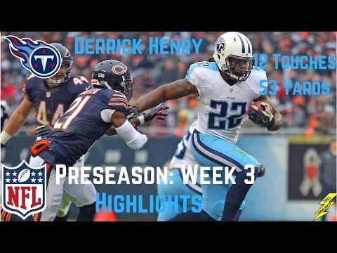 Derrick Henry Week 3 Preseason Highlights A Force! | 8/27/2017