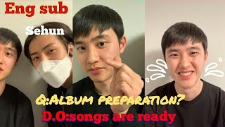 Eng Sub Full Exo D O Kyungsoo 1st Live After Discharge Ft Sehun The Songs Are Ready ️ ️ ️ MP3
