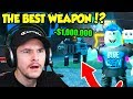 I BOUGHT THE BEST WEAPON IN MOON MINING SIMULATOR AND NOW I'M CONFUSED... (Roblox)