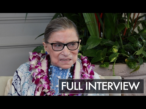 FULL EXCLUSIVE INTERVIEW: Sit Down with Ruth Bader Ginsberg