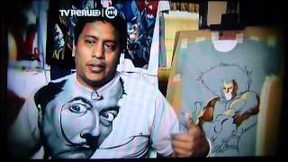 POLOS PINTADOS A MANO CABO ART, ENTREVISTA PROGRAMA METRÓPOLIS.