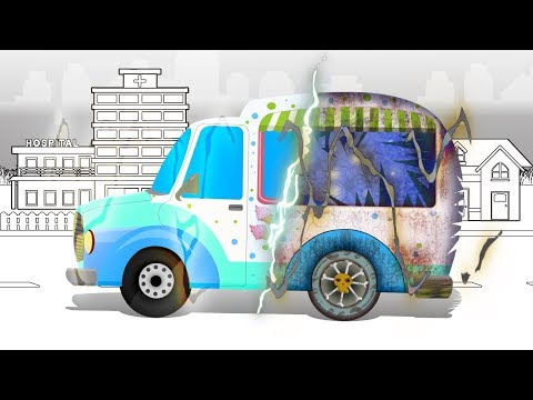 Good and Evil | Ice Cream Truck | Haunted House | Kids Video