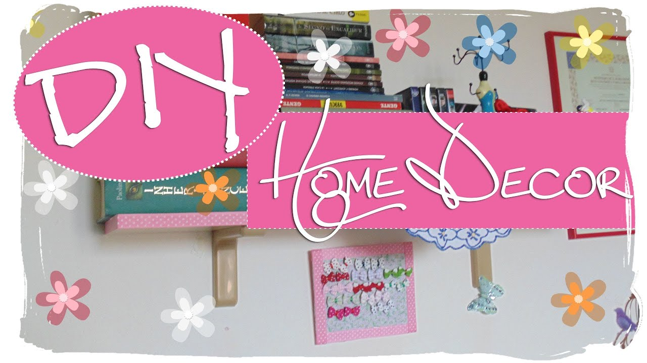DIY 3 Idee per Decorare la Propria Camera  3 Spring Room Decor Ideas  YouTube