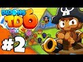 "New ""CUBISM"" Crazy Map! - Bloons Tower Defense 6 Part 2 (BTD 6 IOS/Android)"