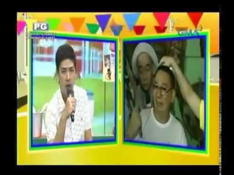'Ang Resbak ni Jose sa Pang Aasar ni Ryzza' Eat Bulaga - April 24, 2013