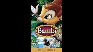 Download Opening to Bambi: Special Edition UK VHS (2005)
