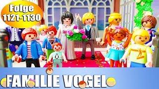 Playmobil Filme Familie Vogel: Folge 1121-1130 | Kinderserie | Videosammlung Compilation Deutsch